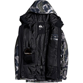 Quiksilver Mission Printed Veste Homme, black sir edwards